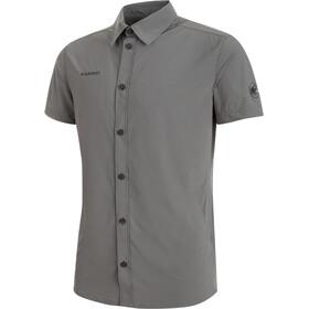 Mammut Trovat Light Kortærmet T-shirt Herrer grå